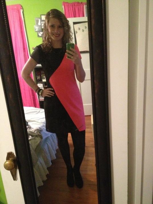 new neon dress