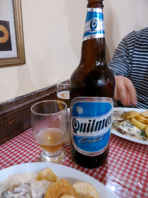 This was our favorite Argentinan beer. We think it's the Bud Select of Portneos.