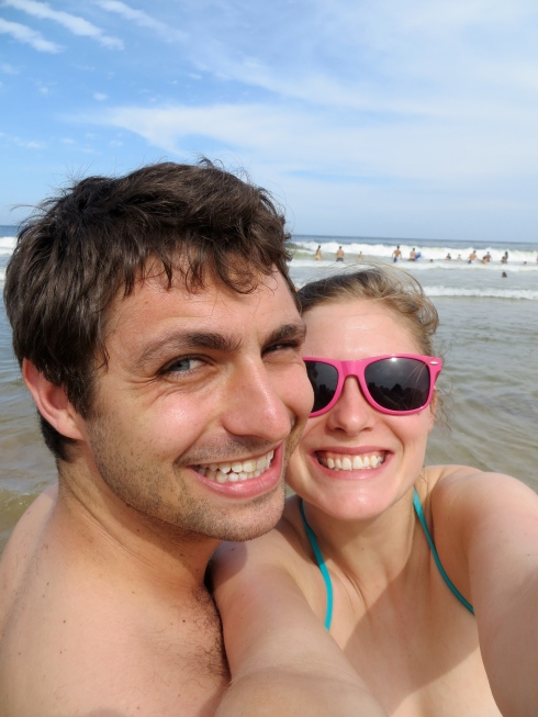 Josh and I in punta
