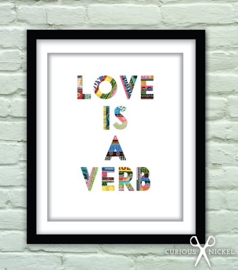 love-is-a-verb-fine-art-collage-print